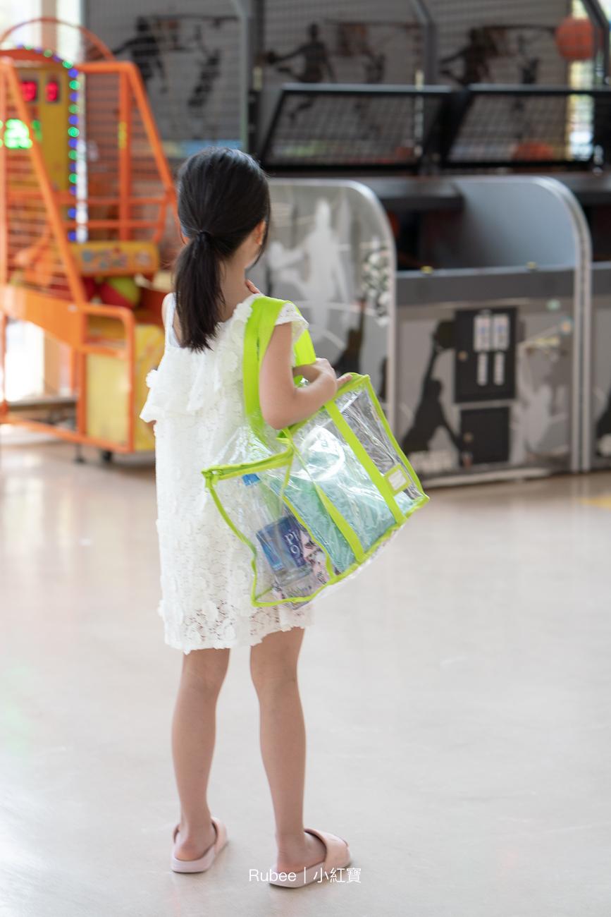 居家收納提案。多尺寸超好用質感透明收納袋系列 @Rubee。小紅寳